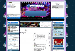 Le site FunHabbo, lorsque mistermax le gérait.
