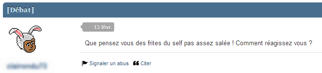 Woooh! Question existentielle!