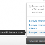 Fin du traitement par l'agent de support...