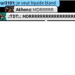 De: .TDT. - Toi, liquide blanc?