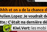 Screen de: Zeus_ : Diskit, la meuf elle m'as bannit