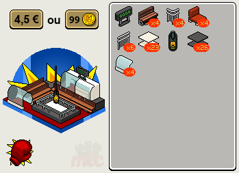 Ring de catch Habbo