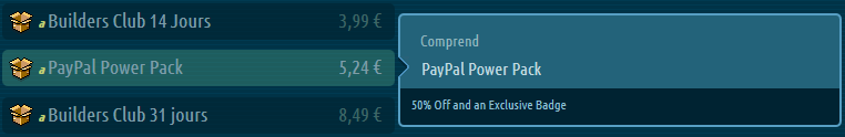 offre paypal