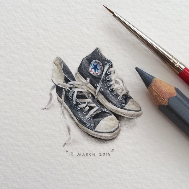 Mini dessin Converse