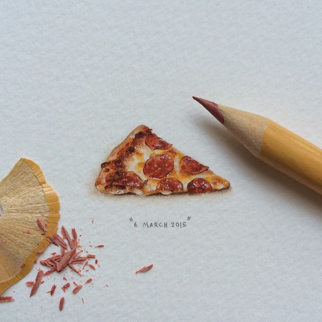 Mini dessin Pizza