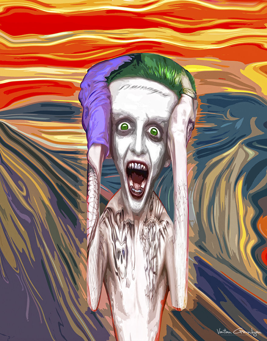 Screaming Joker