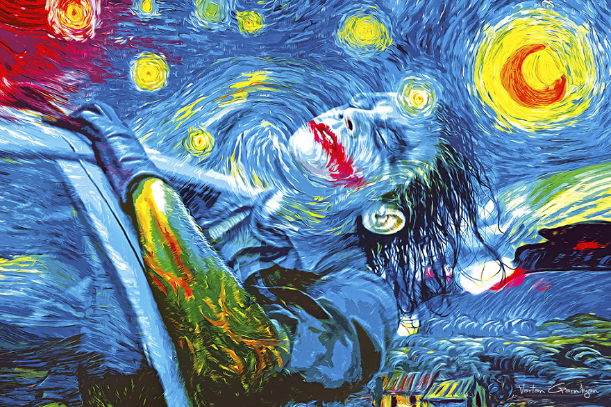 The Starry Knight