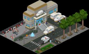 Habbo Motor - Entrée École de conduite