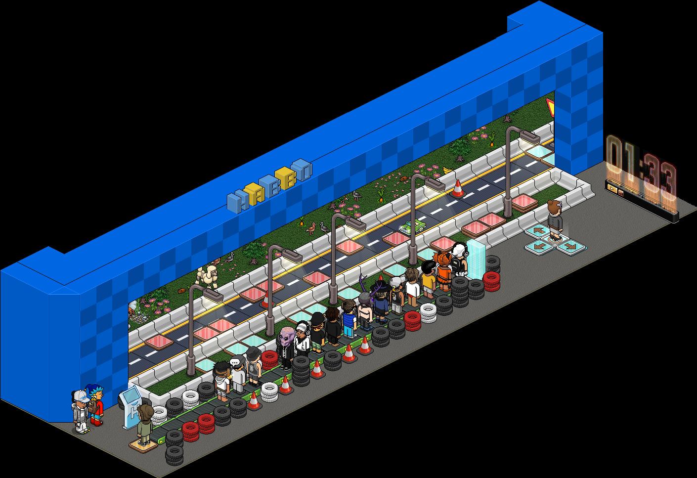 Habbo Motor - Simulateur