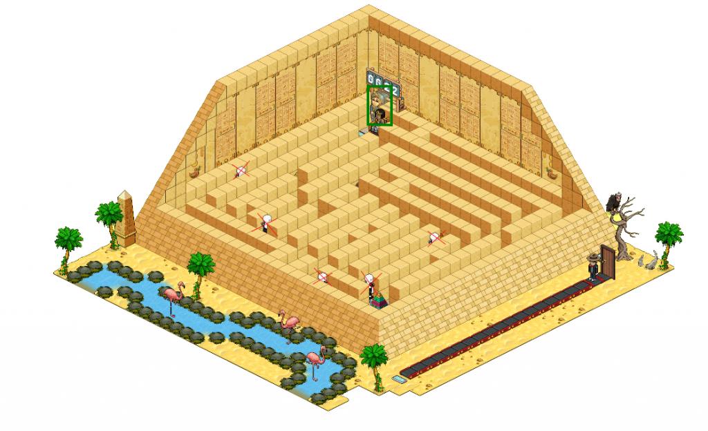 Le labyrinthe de cléopâtre