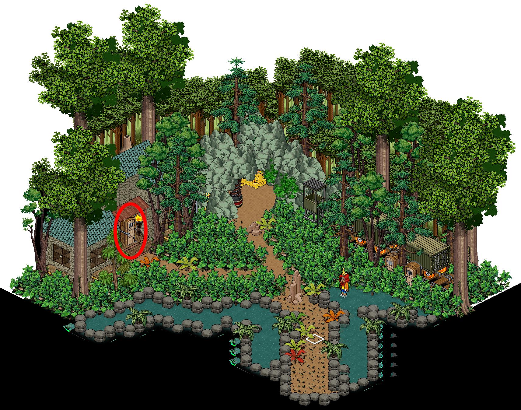 [HabbUnivers] Forêt mystérieuse