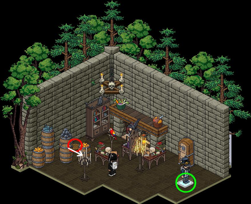 [HabbUnivers ] Maison de la vieille