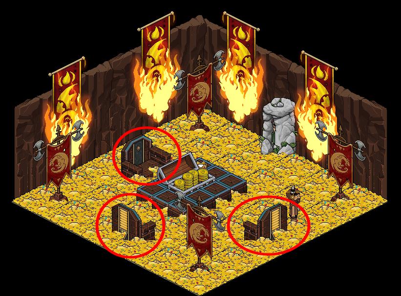 Salle du trésor.