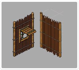 bamboo-wall